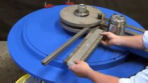 Seismic Pipe Hanger Bender, Pipe Hanger Bending Machine Pedrick Model A-7.m4v