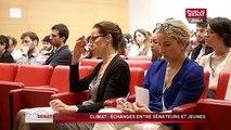 Green dating climat : Echanges entre sénateurs et jeunes