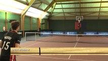 Andy Murray s'essaie au basket avec le Half Court Challenge