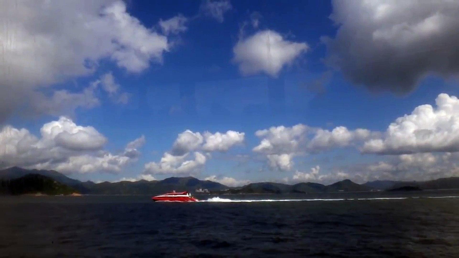 噴射飛航 Jetfoil 金星 (Santa Maria) VS Tricat 宇航2006 (Universal MK 2006)