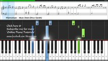 Arijit Singh - Khamoshiyan (Piano Tutorial + Music Sheet + MIDI + Piano Cover) -- Dhruv Gandhi.mp4