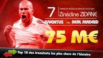 Bale, Ronaldo, Zidane... les dix transferts les plus chers de l'histoire !