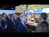 Milano - Expo 2015, Renzi e Putin visitano il Padiglione della Federazione Russa (10.06.15)