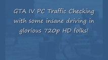 GTA IV HD Car Crashes Traffic Checking Burnout Style PC Mod