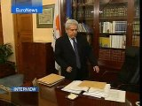 EuroNews - Interview - New Cypriot president explains...