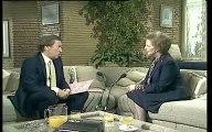 Margaret Thatcher talking about sinking the Belgrano
