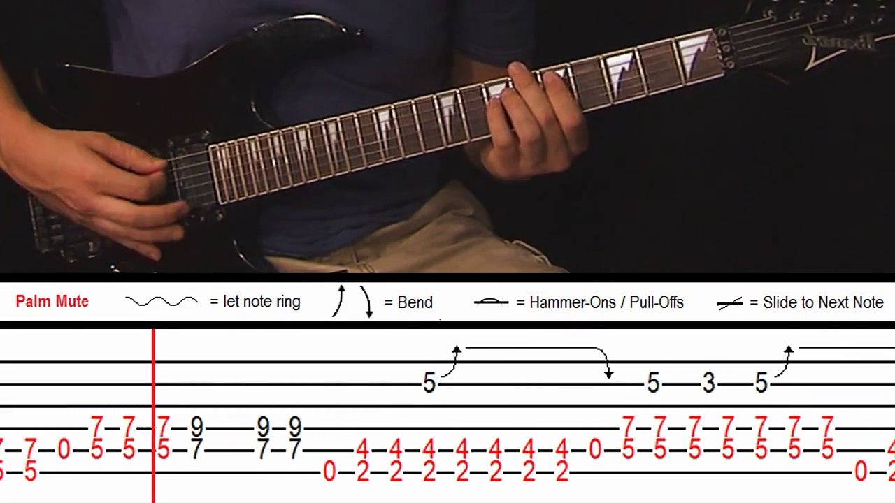 How to Play 'Message in a Bottle' by The Police (With On-Screen Tabs!) – Guitar Tutorial