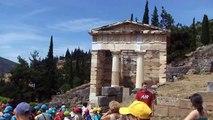 Grèce le site archéologique de Delphes (Greece the archaeological site of Delphi)