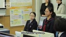 【HATSUNE MIKU】  VOCALOID SCHOOL  in 藤村女子中学校 【初音ミク】 Film 3D, catoon FUNNY