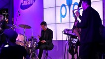 Live Jazz Music Performance 1 - The Samsung Mobile PIN event @ Ngee Ann City Civic Plaza