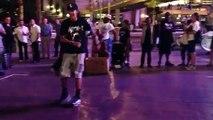 Las Vegas street dancers