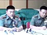 Jumpa Pers Panglima TNI Tentang Intelijen TNI