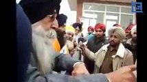Simranjit Singh Mann Terrifying words on Police for posting 144 Act on Gurudwara