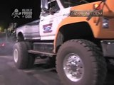 Army Truck vs Monster Ford Truck Extreme Tug O War Truck Night at Yankee Lake 8-24-2012