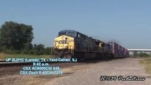 HiDef: Railfanning the UP, CN, and CSX at Tuscola, IL - July 10th, 2011