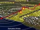 Peta Bantul Yogya Sebelum dan Setelah Gempa 27 Mei 2006