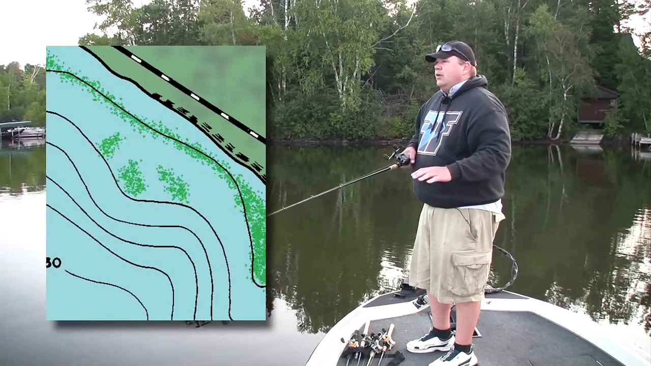 How to Fish For Summer Largemouth Bass  -wisconsin tournament bass fishing strategy