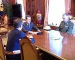 Медведев прекращает войну с Грузией. Medvedev stops war
