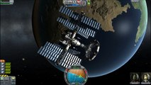 Kerbal Space Program 0.19 - De-Orbiting a space station
