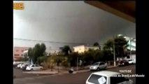 Tornado em Xanxerê - Santa Catarina (VIDEO) | Tornado causa mortes e destruição em Santa Catarina