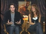 JUSTIN LONG ROCKY EXPERIENCE BONDING WITH WILLIS IN DIE HARD