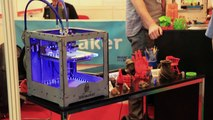 Personal 3D Printers at TCT Live 2012 - The 3D Printer Spy is back!