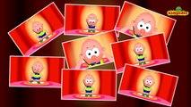 Head Shoulders Knees & Toes - Popular #NurseryRhymes Collection I #ChildrenSongs