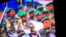 Desfile dos Militares, na Tomada de Posse dos Presidente e Vice Presidente Respectivamente, José Eduardo Dos Santos e Manuel Vicente