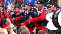 La fanfare du 27e BCA vue par les Québécois