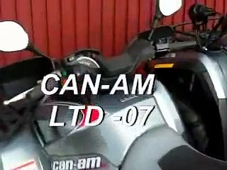 Can-am Outlander LTD -07 ,-08