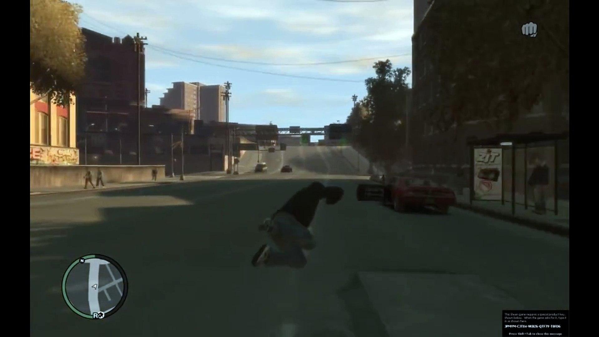 GTA IV Ragdoll Mod!