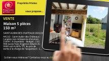 A vendre - maison - SAINT AUBIN DES CHATEAUX (44110) - 5 pièces - 150m²