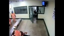 Terrifying Moment Inmate Attacks Prison Guard In Indiana   Marion Correction Officer Attacked