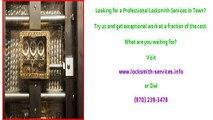 Laporte, CO Licensed And Bonded Locksmiths