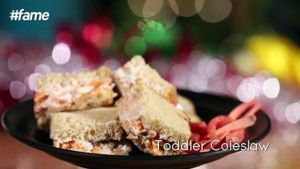 #Fame Food - How to Make Toddler Coleslaw