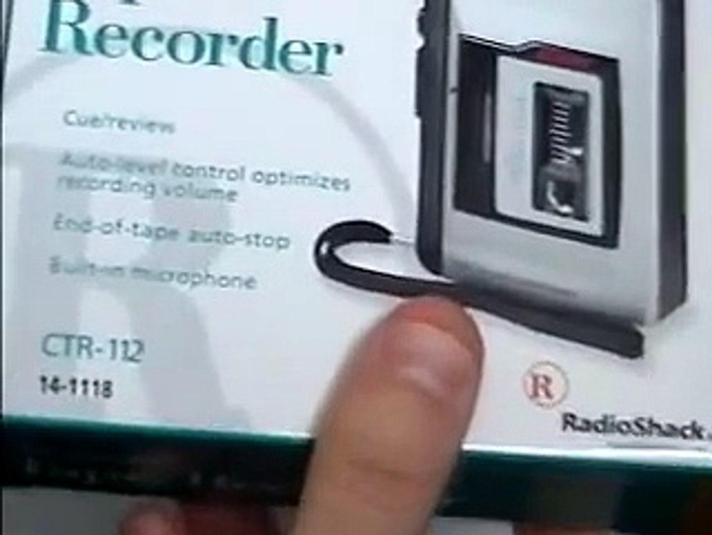 Tape CASSETTE RECORDER CTR-112 14-1118