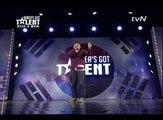 [Korea's Got Talent] Rahzel vs Big.Road   Beatbox battle?!