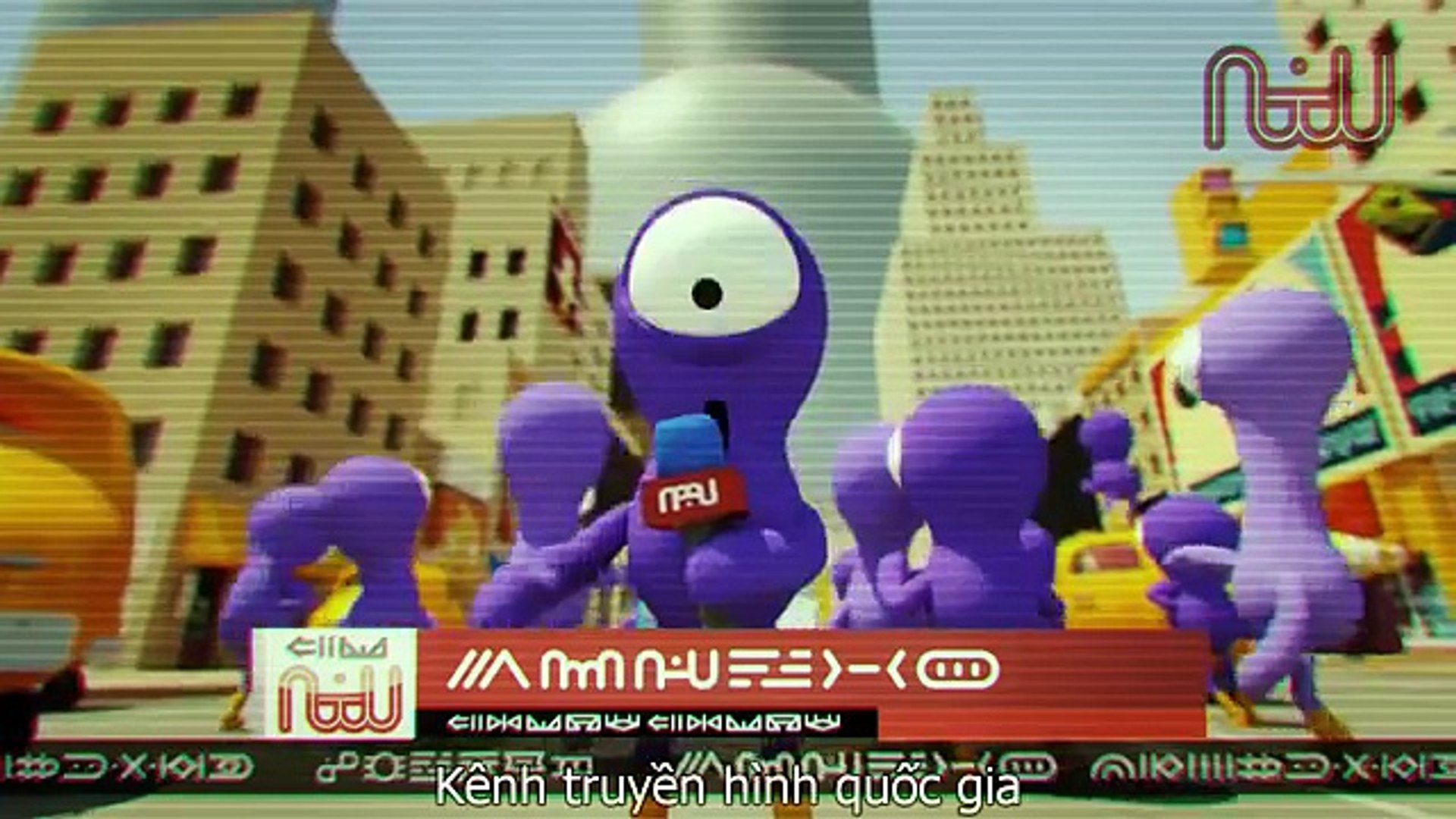 Phim hoạt hình HÀI cute siêu tưởng tượng ★ Giao hàng ngoài vũ trụ - 3D ✔