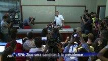 Brésil: Zico va être candidat à la présidence de la Fifa