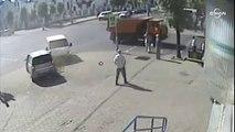 Belarus'ta araç kaldırıma girdi: 2 yaralı