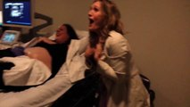 She just understood her sister has 2 babies in her belly.... So funny reaction