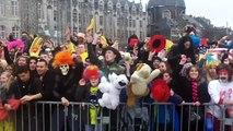 Liège, le plus grand Harlem Shake de Belgique sur la place Saint-Lambert samedi 16 mars 2013