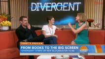 Theo James & Shailene Woodley Interview - Divergent