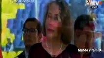 Doña Florinda pelea con camarógrafo   Florinda Meza pelea con camarógrafo en funeral de Chespirito
