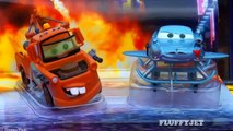Pixar Cars 2 Diecasts Escape At Sea Mater Finn McMissile Disneystore Disney Toy Review Mattel Toys