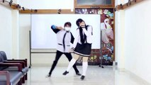 [ Momoe Girls]  Suki Kirai Dance Cover - Kagamine Rin & Len