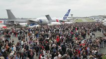 Les avions Dassault présents - Bourget 2015 - Dassault Aviation