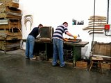 ercol bending-shop - bending an evergreen chair bow.m4v