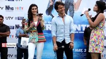 Tiger Shroff and Kriti Sanon Dancing Together in the Rain! _ Chal Wahaan Jaate Hain Song-cBkgz7rz3UU