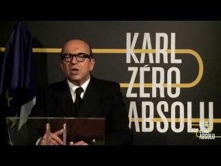 Adresse publique à Nicolas Sarkozy - Karl Zéro Absolu